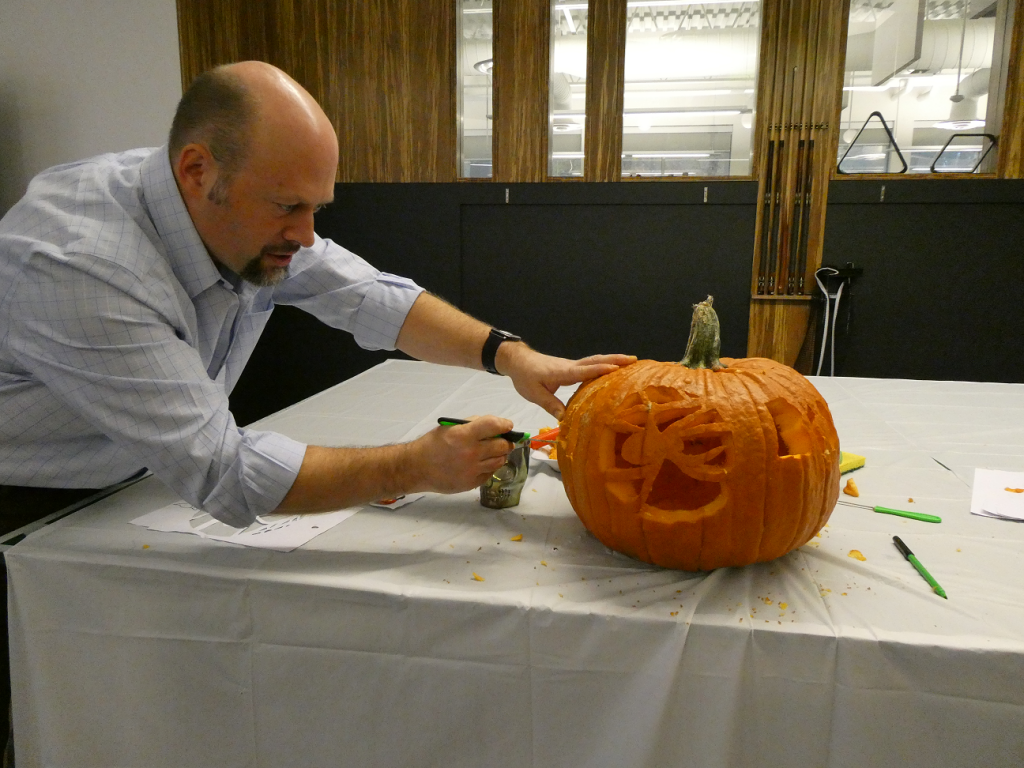 Halloween Pumpkin Carving Artistry